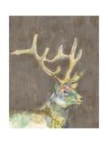 Rustic Wildlife II Plakat af Jennifer Goldberger