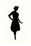 Fashion Icon Series 1950's 1 Giclee Print by Sid Rativo