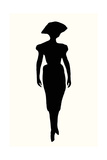 Fashion Icon Series 1940's Giclee Print by Sid Rativo