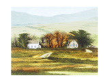 Country Church Giclee Print by Miguel Dominguez