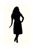 Fashion Icon Series 1950's 2 Giclee Print by Sid Rativo