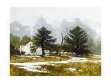 Winter Mist Giclee Print by Miguel Dominguez