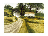 Hill Top Barn Giclee Print by Miguel Dominguez