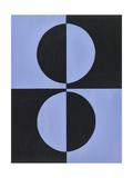 Azul Moderne 3 Giclee Print by Ben Gordon
