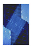 Folded Architecture 14 Giclee Print by David Jordan Williams
