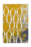 Yellow Pintura 2 Lámina giclée por Sid Rativo