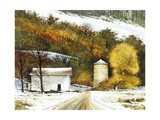 Rural Winter Giclee Print by Miguel Dominguez