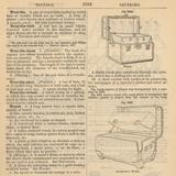 "Travel Encyclopedia ""Trundle & Trunks"" Posters af  Piddix"