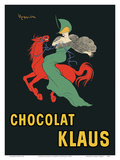 Chocolat Klaus - Swiss Chocolates Poster by Leonetto Cappiello