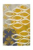 Yellow Pintura 3 Giclee Print by Sid Rativo