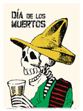 Mexico - Dia De los Muertos (Day of the Dead) Festival Posters by Jose Guadalupe Posada