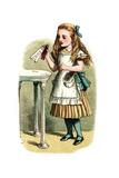 """Drink Me"" Alice in Wonderland by John Tenniel Art by  Piddix"