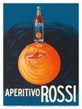 Aperitivo Rossi Liqueur- Martini & Rossi - Torino (Turin), Italy Print by Jean Droit