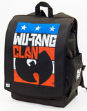 Wu-Tang Clan Red White Blue Logo Backpack Backpack