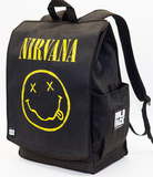 Nirvana Yellow Smiley Face Backpack Backpack