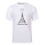I Stand With Paris T-Shirt T-Shirt