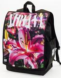 Nirvana Pink Lillies Backpack Backpack
