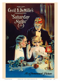 Saturday Night - Cecil B. DeMille Production Posters by  Pacifica Island Art