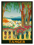 Tangier (Tanger) Morocco Poster by Manuel Diaz Merry