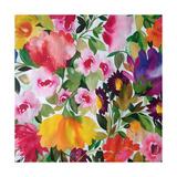 Tulipe jaune Reproduction procédé giclée par Kim Parker
