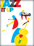 Jazz It Up Posters