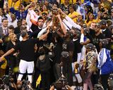 2017 NBA Finals - Warriors Win Championship Photographie par Garrett Ellwood