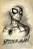 Spider-Man Vintage Watercolor 1 (Exclusive) Print