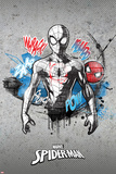 Spider-Man Vintage Concrete 1 (Exclusive) Posters