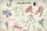 Spider-Man Sketchbook 2 (Exclusive) Poster