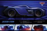 Cars 3 - (Jackson Storm Stats) Kunstdrucke