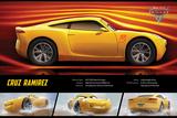 Cars 3 - (Cruz Rameriz Stats) Posters