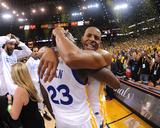 2017 NBA Finals - Game Five: Andre Iguodala and Draymond Green Photo by Noah Graham