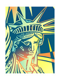 Statue of Liberty Poster by David Chestnutt