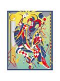 Jester Making Magic Prints by David Chestnutt