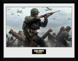 Call Of Duty - Stronghold WW2 Shooter Collector Print