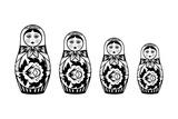 Russian Nesting Dolls Poster by David Chestnutt