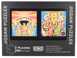 Jimi Hendrix - Axis Bold as Love Double Jigsaw Puzzles Set Jigsaw Puzzle