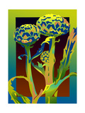 Artichoke Plant Prints by David Chestnutt