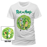 Rick and Morty - Portal (Front/Back) T-shirts