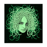 Portrait of Medusa Print by Alan Baker