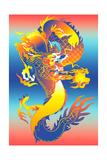 Chinese Dragon Prints by David Chestnutt
