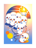Day of Dead Prints by David Chestnutt