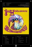 Jimi Hendrix - Are You Experienced Blikskilt