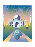 Taj Mahal, Agra, India Posters by David Chestnutt