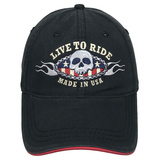 Live To Ride Hat