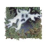 Spooky Ghost in Meadow Prints by Alan Baker