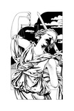 Execution on Lady Justice Prints by David Chestnutt