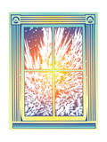 Window with Frost Posters by David Chestnutt