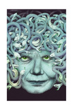 Portrait of Medusa Prints by Alan Baker