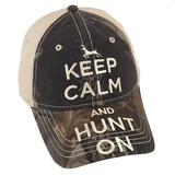 Keep Calm Camo Hat